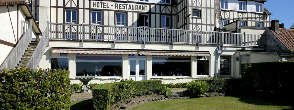 H tel restaurant le normandy wissant booking site officiel for Appart hotel wissant